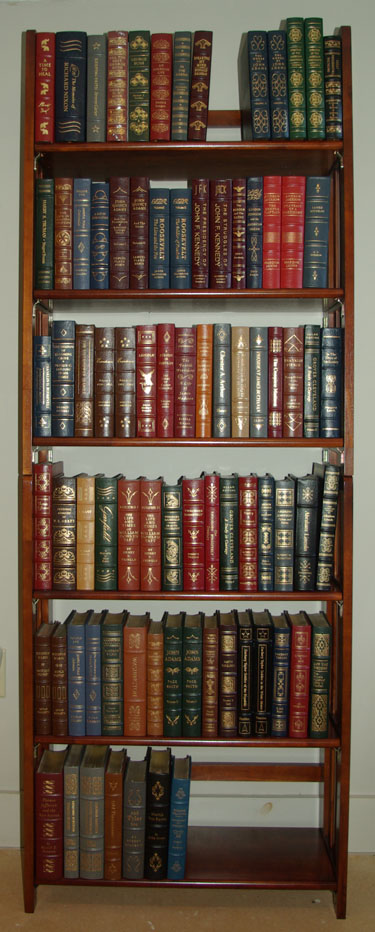 Library of the Presidents (Leather Bound) 82 Volume Set Various
