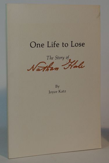 One Life to Lose The Story of Nathan Hale