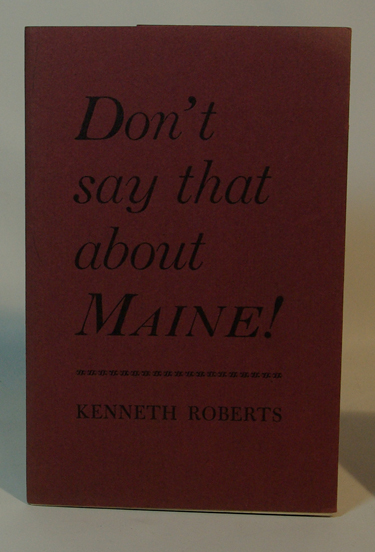 Dont Say That about Maine