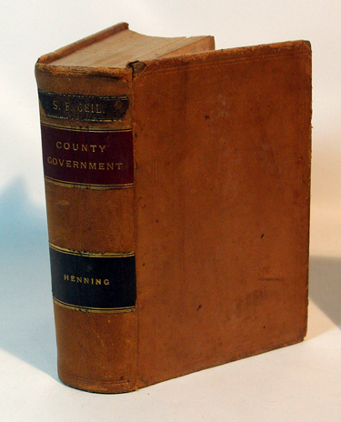 Law Relating to County Government in