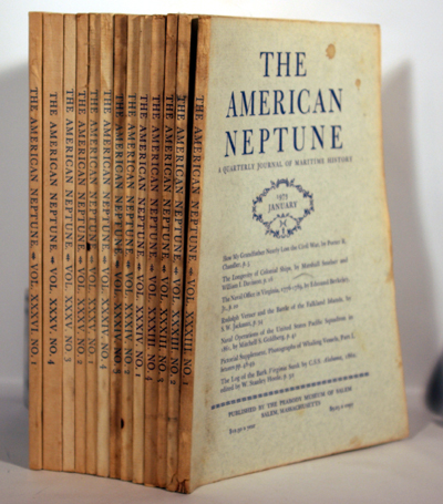 The American Neptune A Quarterly Journal