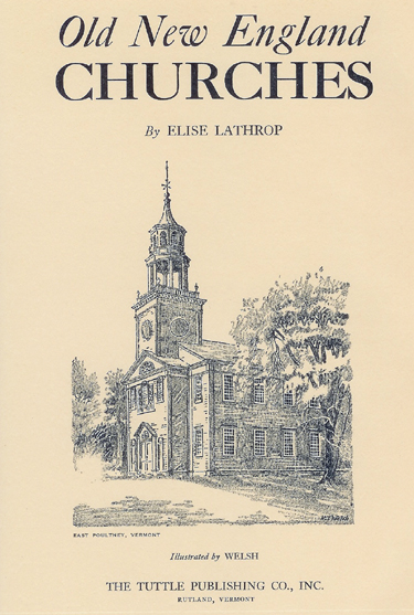 Old New England Churches