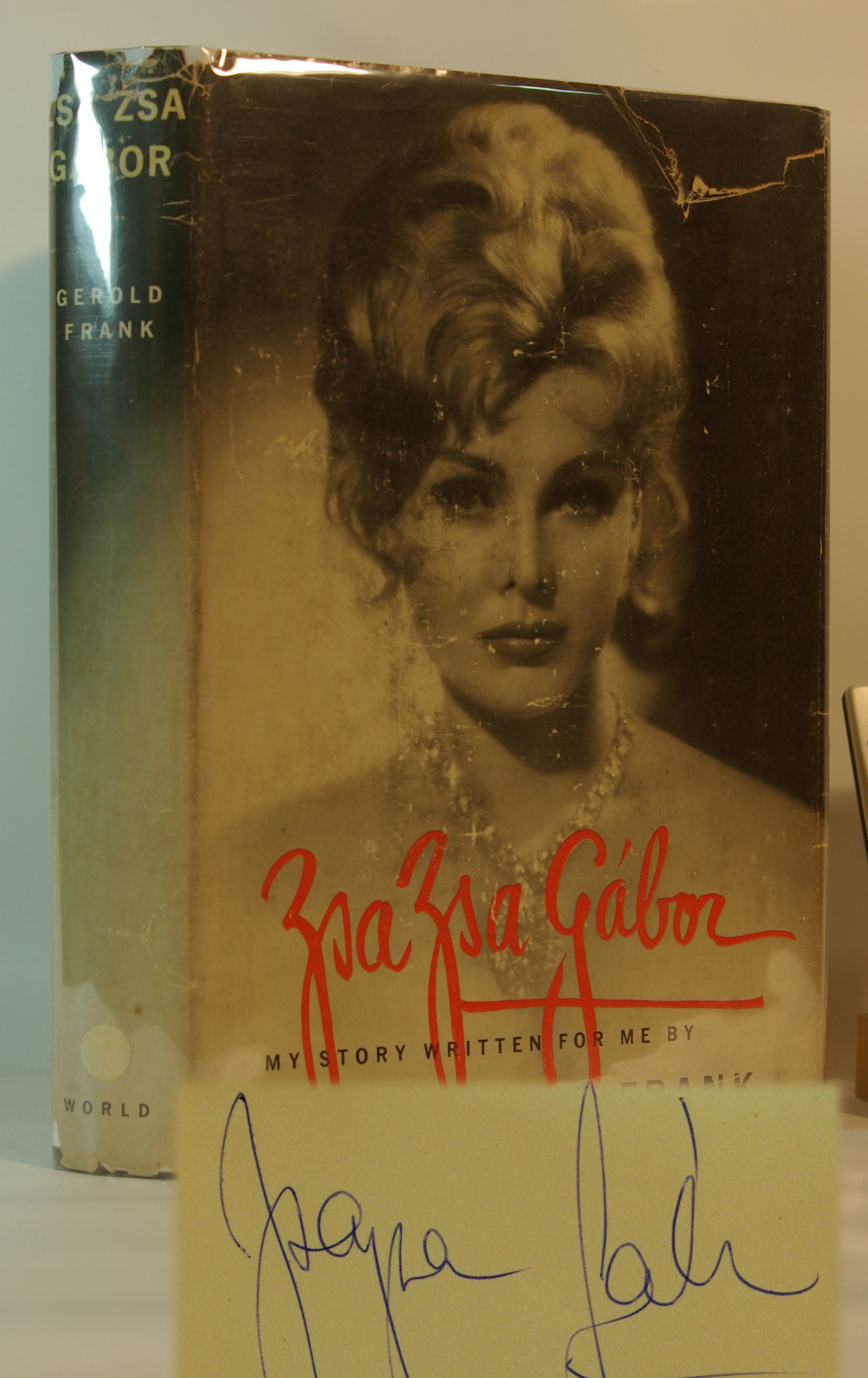 Zsa Zsa Gabor My Story
