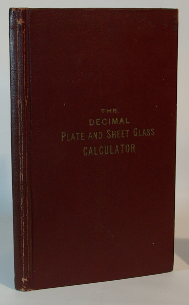 The Decimal Plate and Sheet Glass