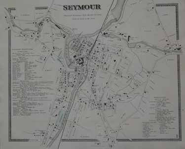 Village of Seymour, [Connecticut].  [Removed From