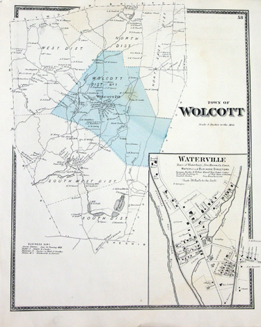 Wolcott and Village of Waterville, [Connecticut
