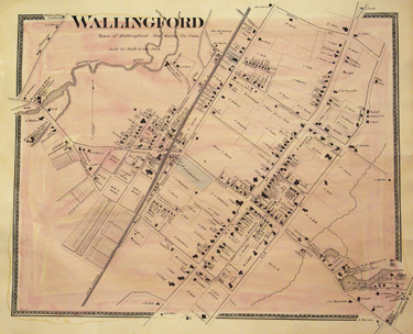 Village of Wallingford, [Connecticut].  [Removed From