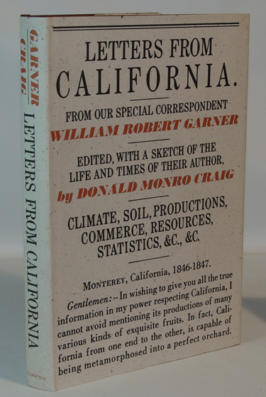 Letters from California 1846-1847