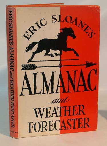Eric Sloanes Almanac and Weather Forecaster