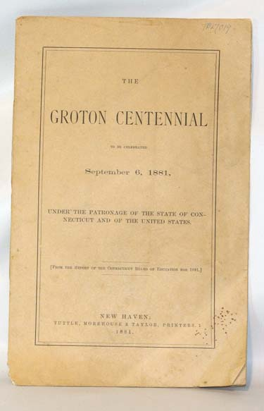 The Groton Centennial To Be Celebrated