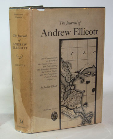 The Journal Of Andrew Ellicott Late