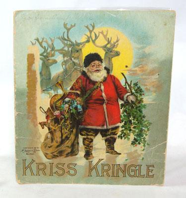 Kriss Kringle And His Brownies