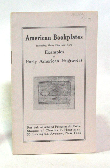 American Bookplates Including Many Fine and