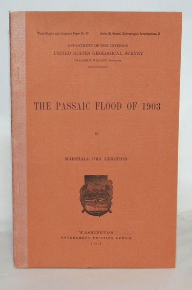 The Passaic Flood Of 1903