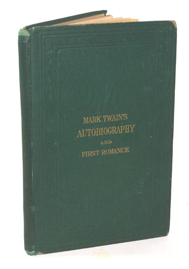 Mark Twains (Burlesque) Autobiography And First