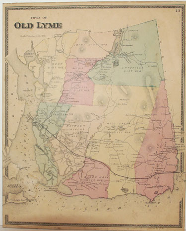 Old Lyme, New London County  [Removed