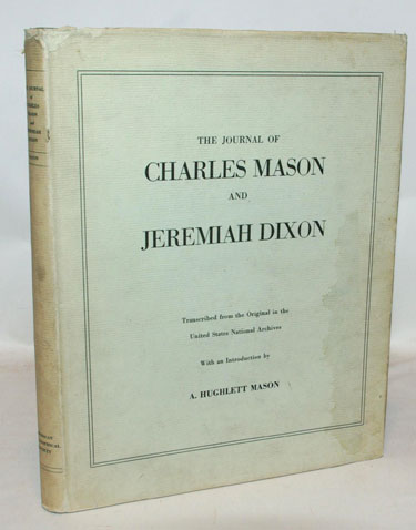 The Journal Of Charles Mason And