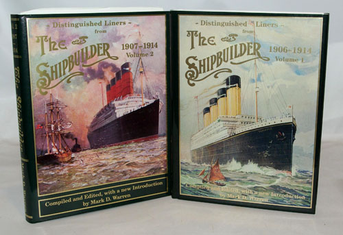 Distinguished Liners from The Shipbuilder 1906-1914