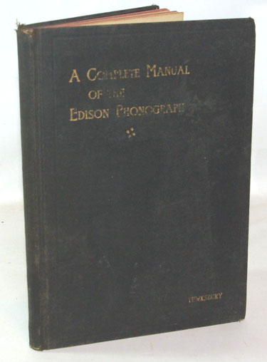A Complete Manual Of The Edison