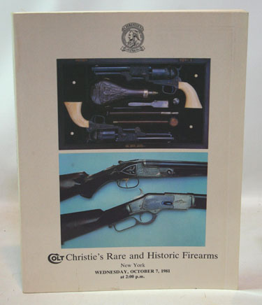 Colt Christies Rare and Historic Firearms